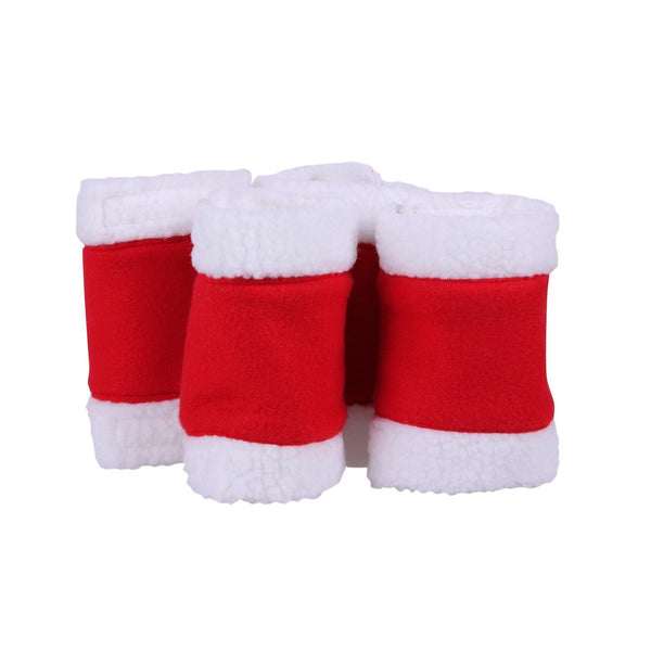QHP Christmas Bandages in Red 4024