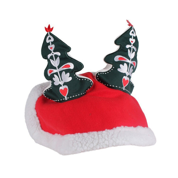 QHP Christmas Tree Hat Horse 5214