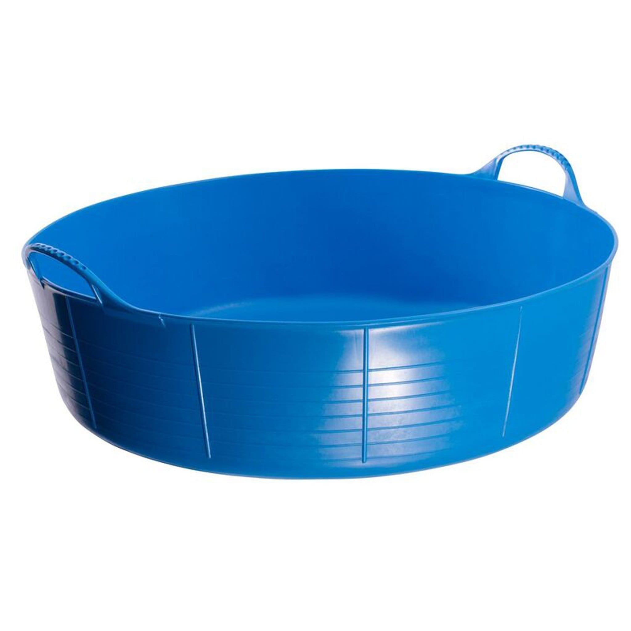 Red Gorilla TubTrug Large Flexible Shallow Bowl Blue KGR0255