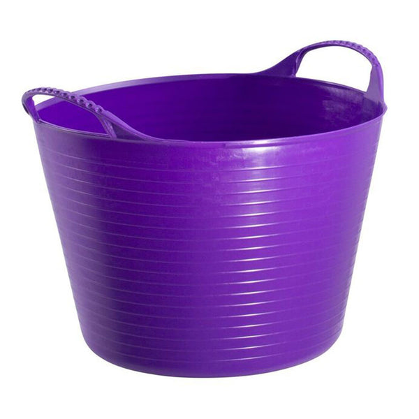 Red Gorilla TubTrug Medium Flexible Bowl Purple KGR0085