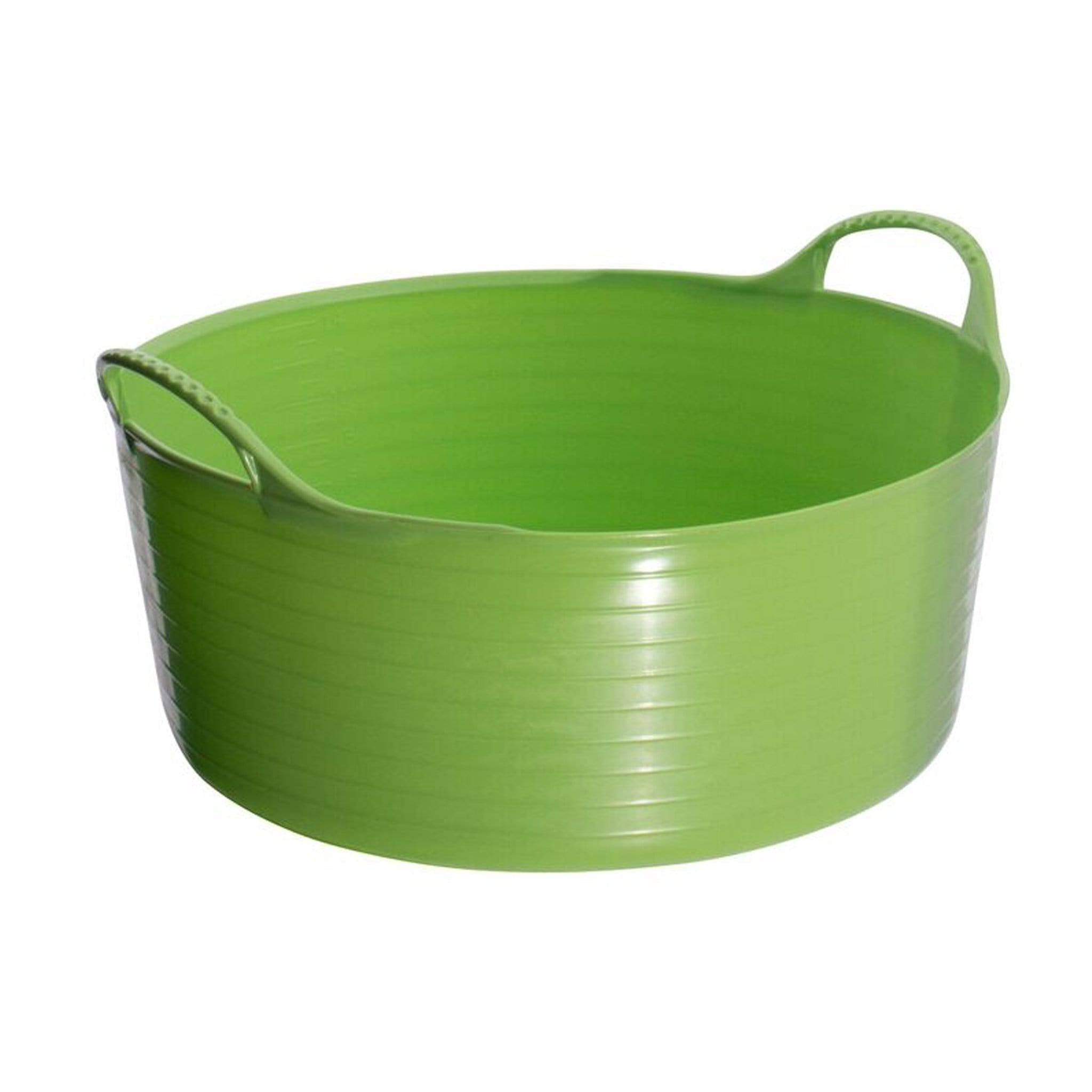 Red Gorilla TubTrug Small Flexible Shallow Bowl Pistachio KGR0224