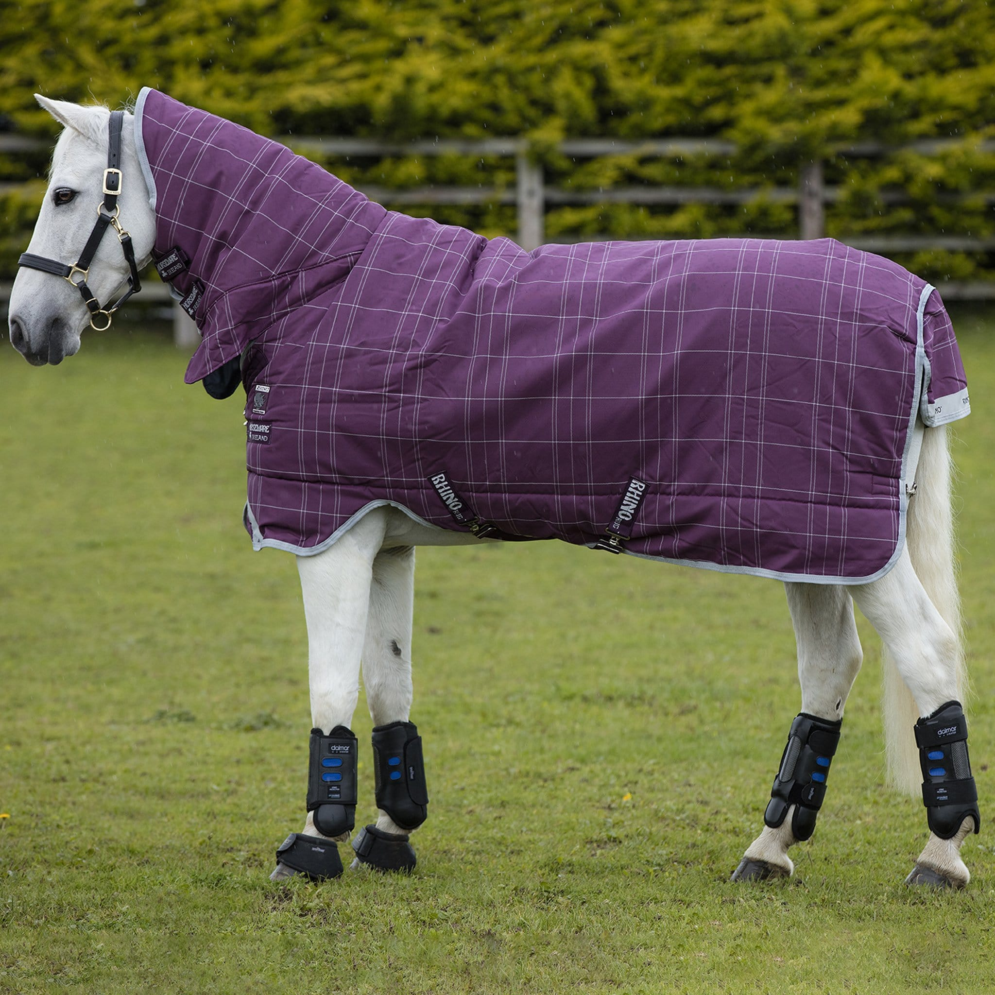 Rhino Pony All-In-One Heavyweight 400g Combo Neck Turnout Rug AKBP93.