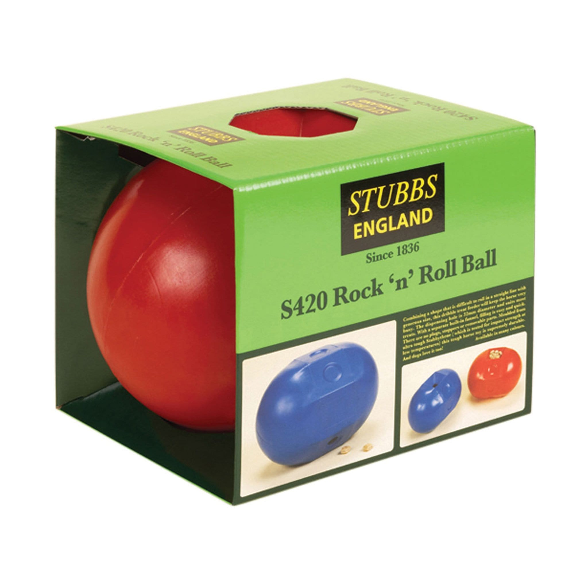 Stubbs Rock N Roll Ball in Packaging 7771