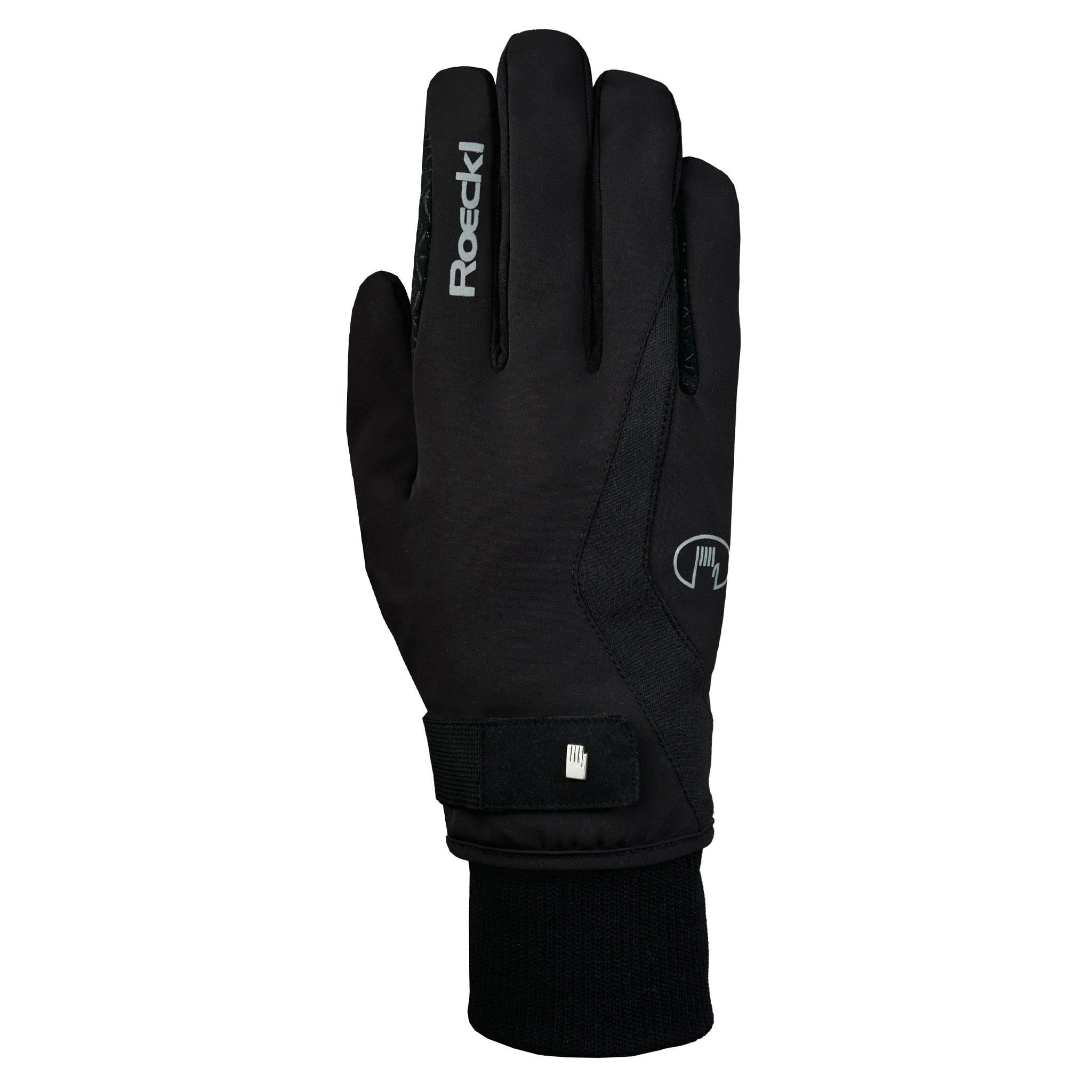Roeckl Wellington GTX Gloves 3301-560-000 Black Back View