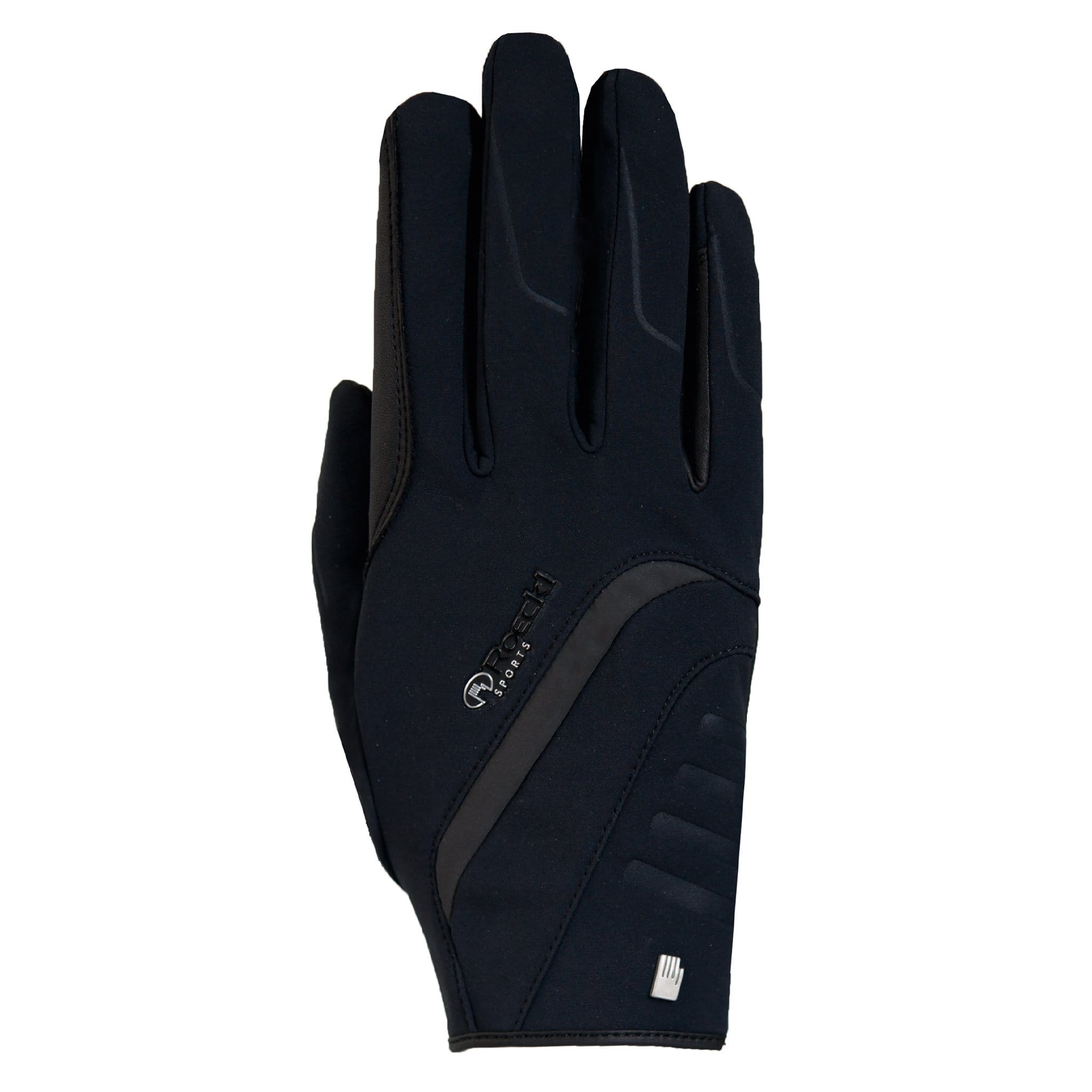 Roeckl Willow Gloves 3301-576-000 Black Back View