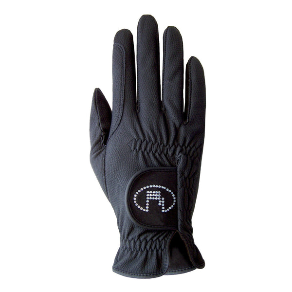 Roeckl Chester Bling Gloves Black 3301-308-000
