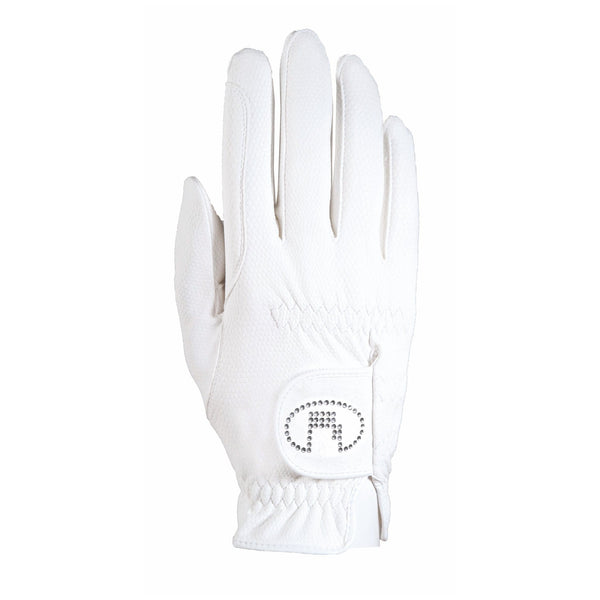 Roeckl Chester Bling Gloves White 3301-308-101