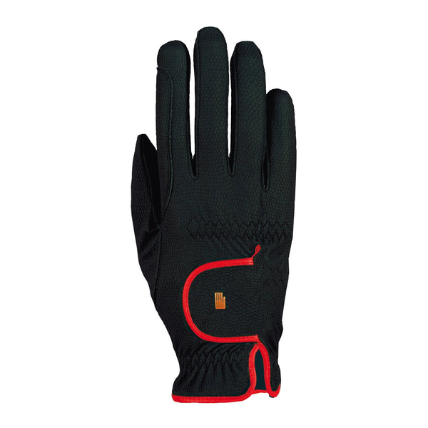 Roeckl Lona Gloves Black and Red 3301-336-004