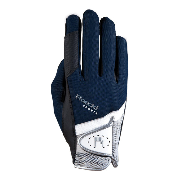 Roeckl London Gloves Navy 3301-249-590