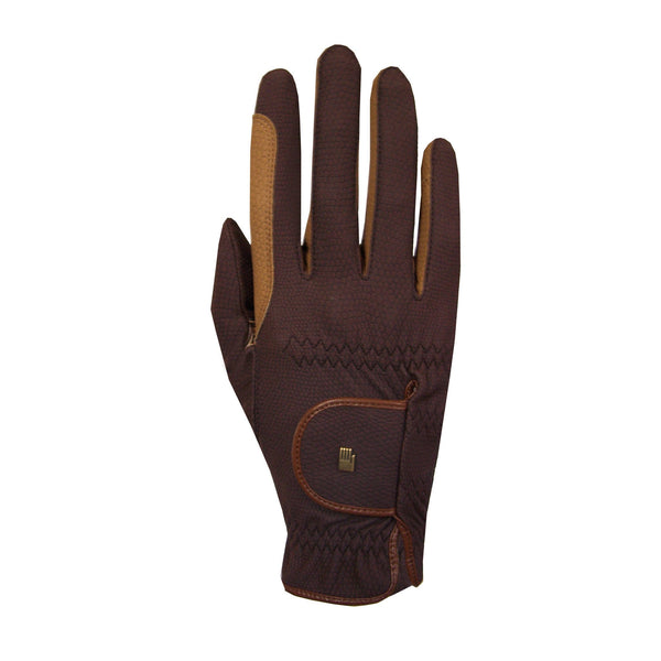 Roeckl Malta Gloves Mocha and Caramel 3301-335-790