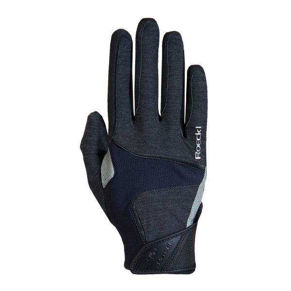 Roeckl Mendon Gloves Anthracite Melange 3301-274-085