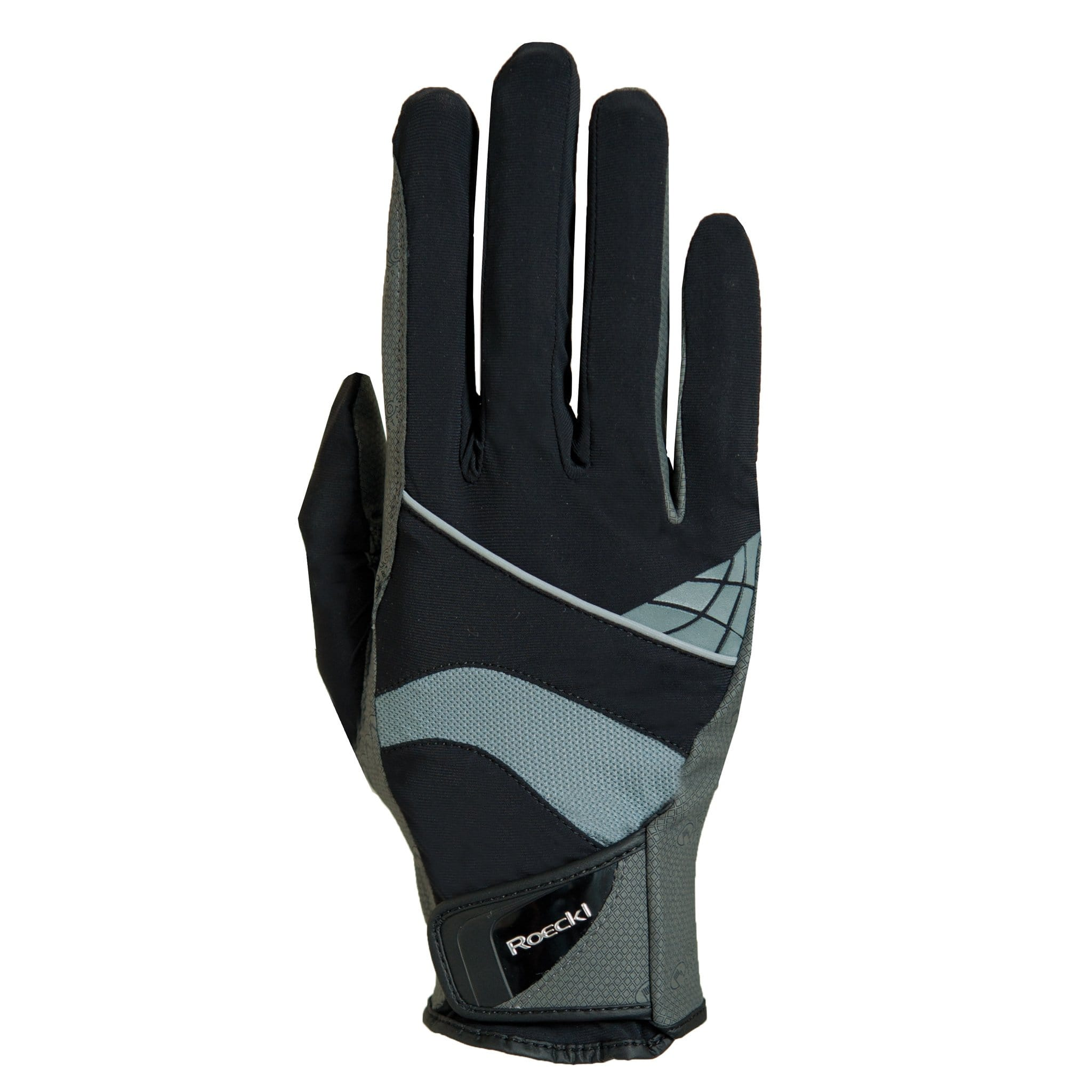 Roeckl Montreal Gloves Black and Grey 3301-273-008
