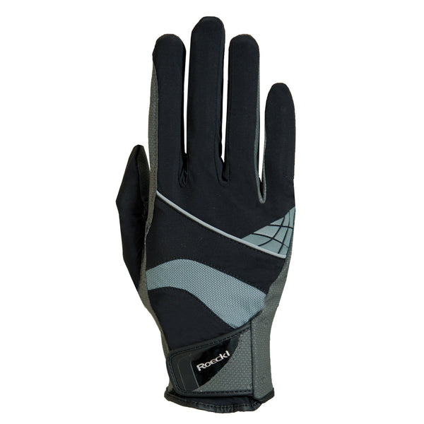 Roeckl Montreal Gloves Black and Grey 3301-273