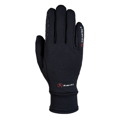 Roeckl Children's Polartec Gloves Black 3305-624-000