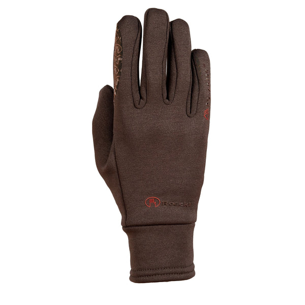 Roeckl Children's Polartec Gloves Mocha 3305-624-790