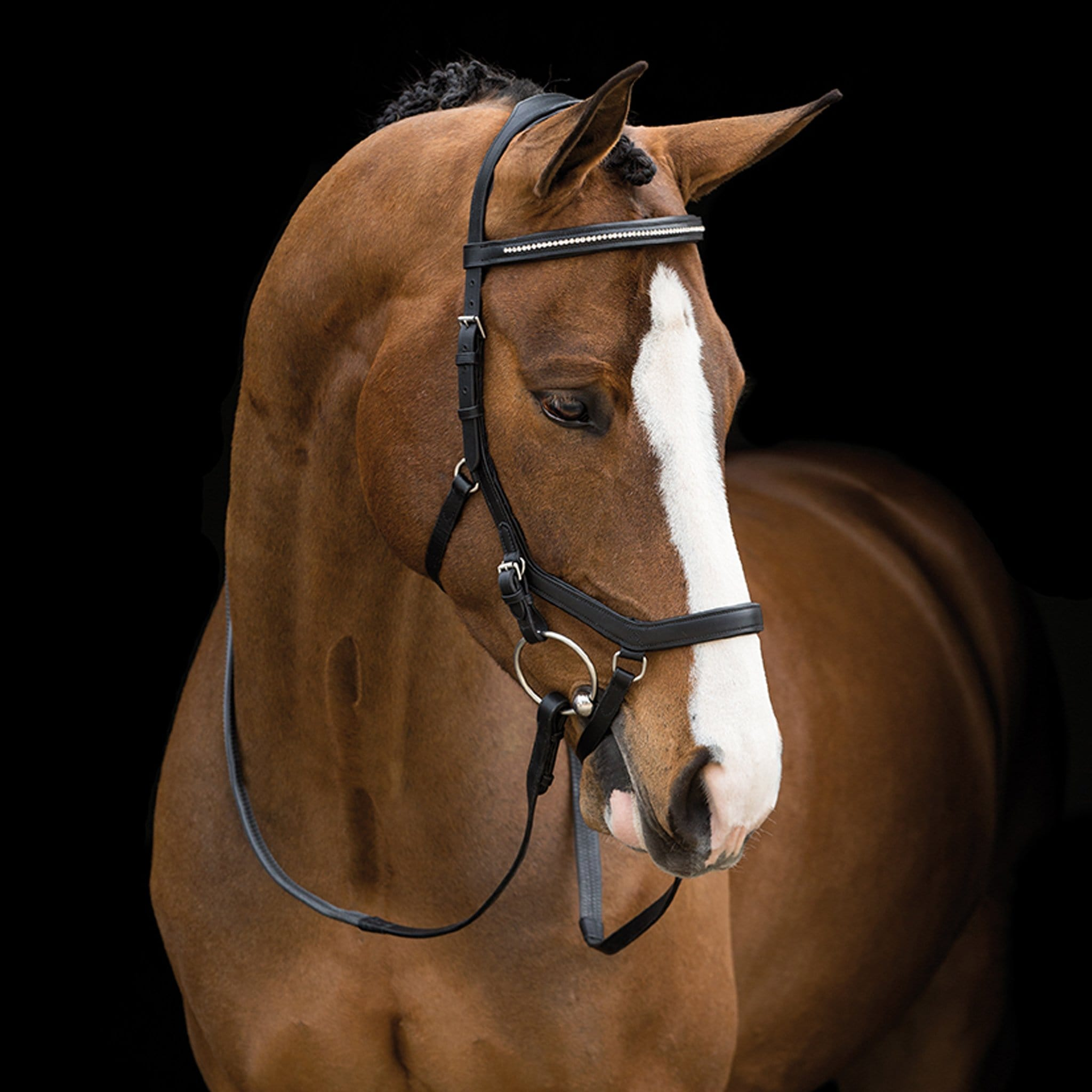 Horseware Rambo Micklem Diamante Competition Bridle SBAB5E