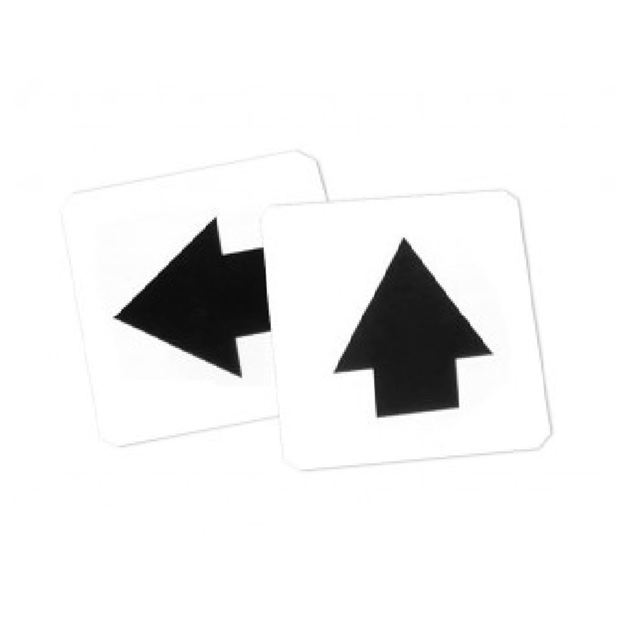 STUBBS Self Adhesive Labels Direction Markers STB1198