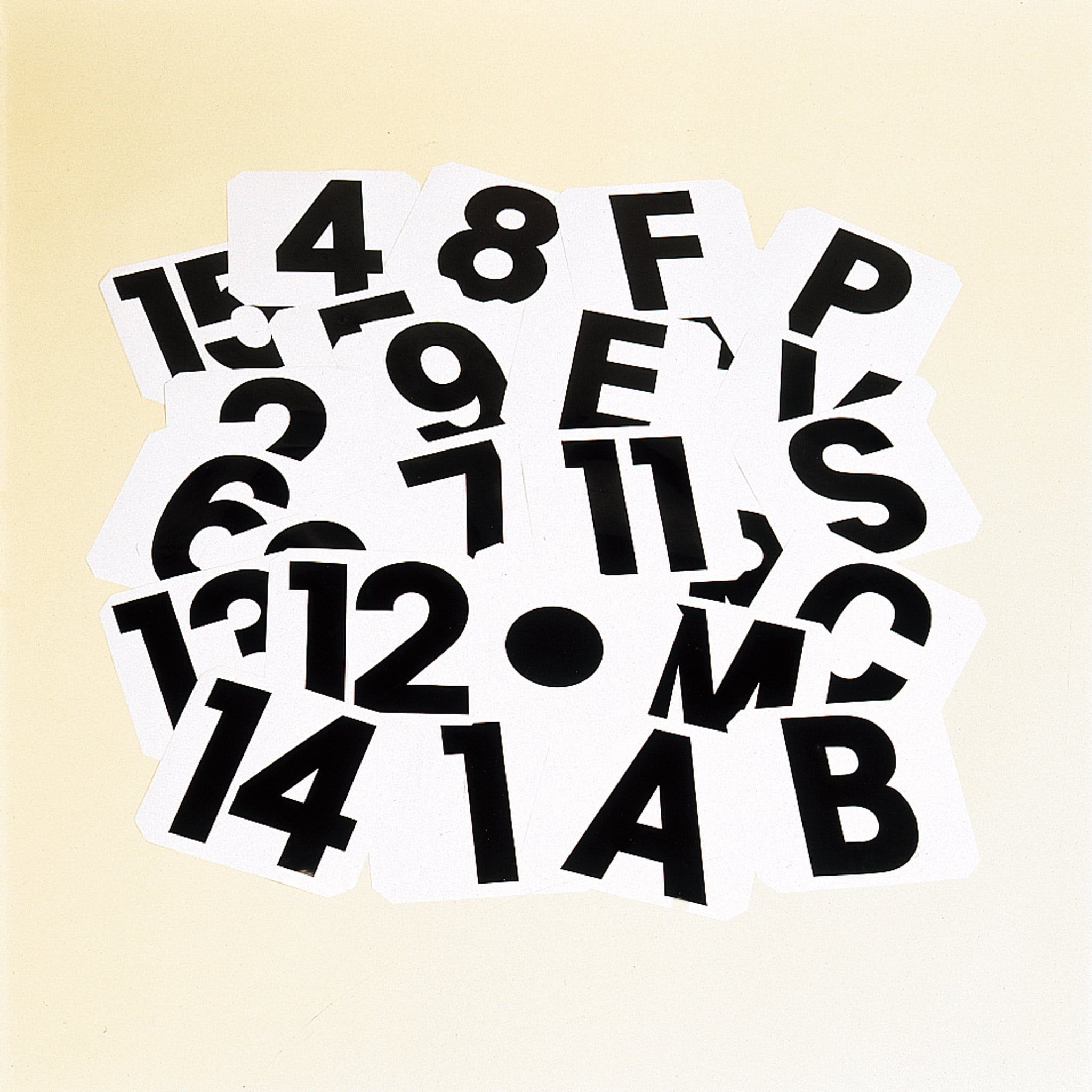 STUBBS Self Adhesive Labels Number STB1217