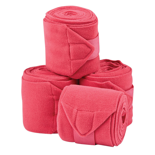 Saxon Coordinate Fleece Bandages Pink 811797