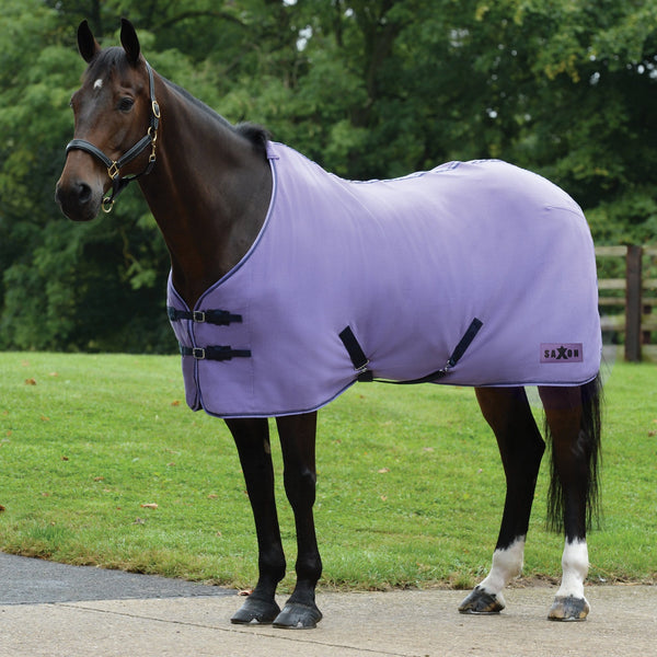 Saxon Element Polar Fleece Rug Purple and Navy 811922