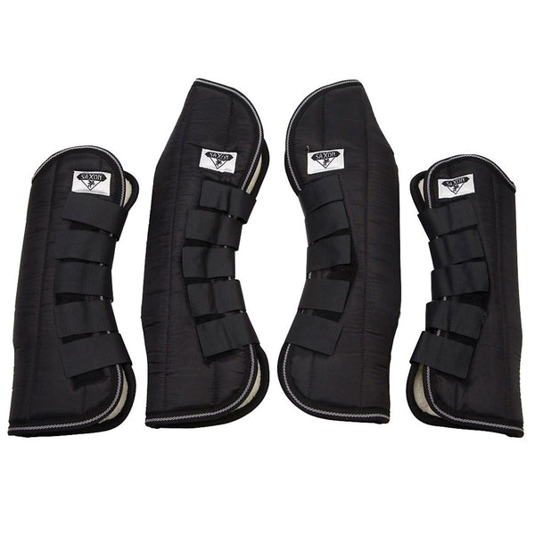Saxon Travel Boots Black - EQUUS