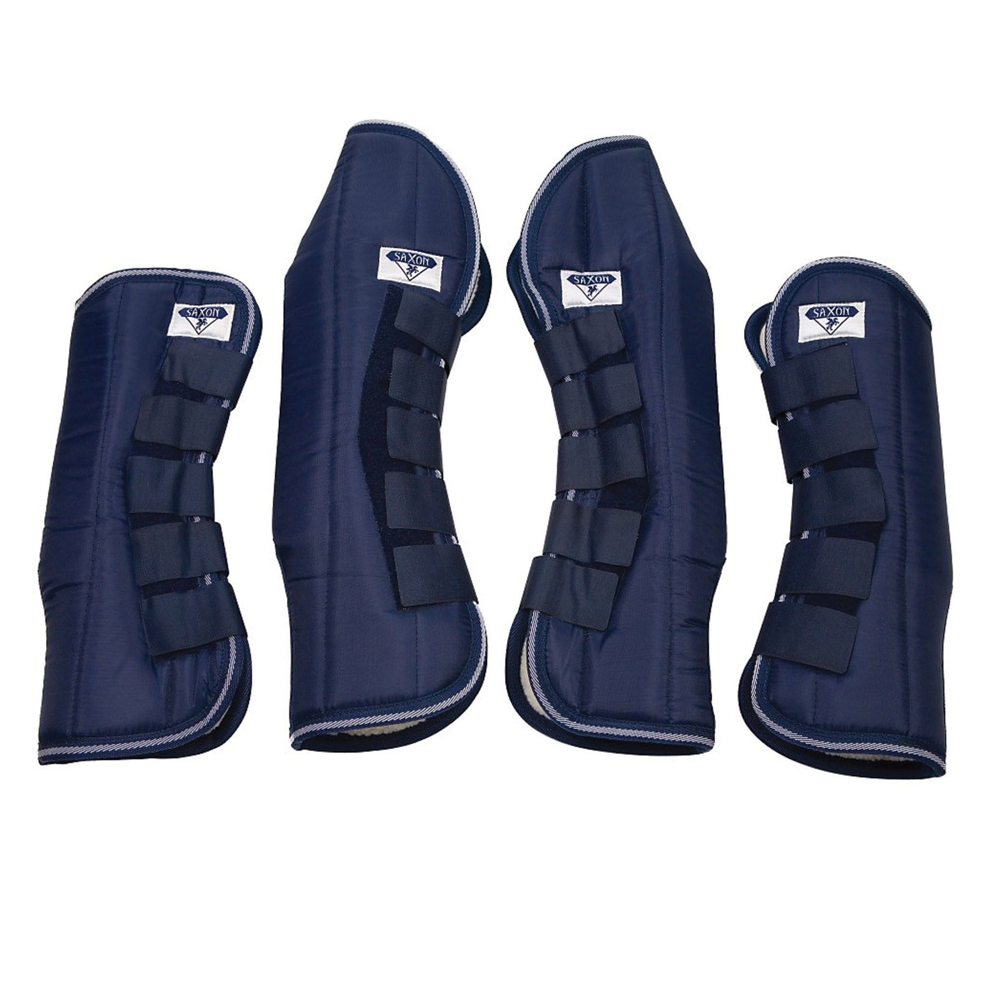 Saxon Travel Boots Navy - EQUUS