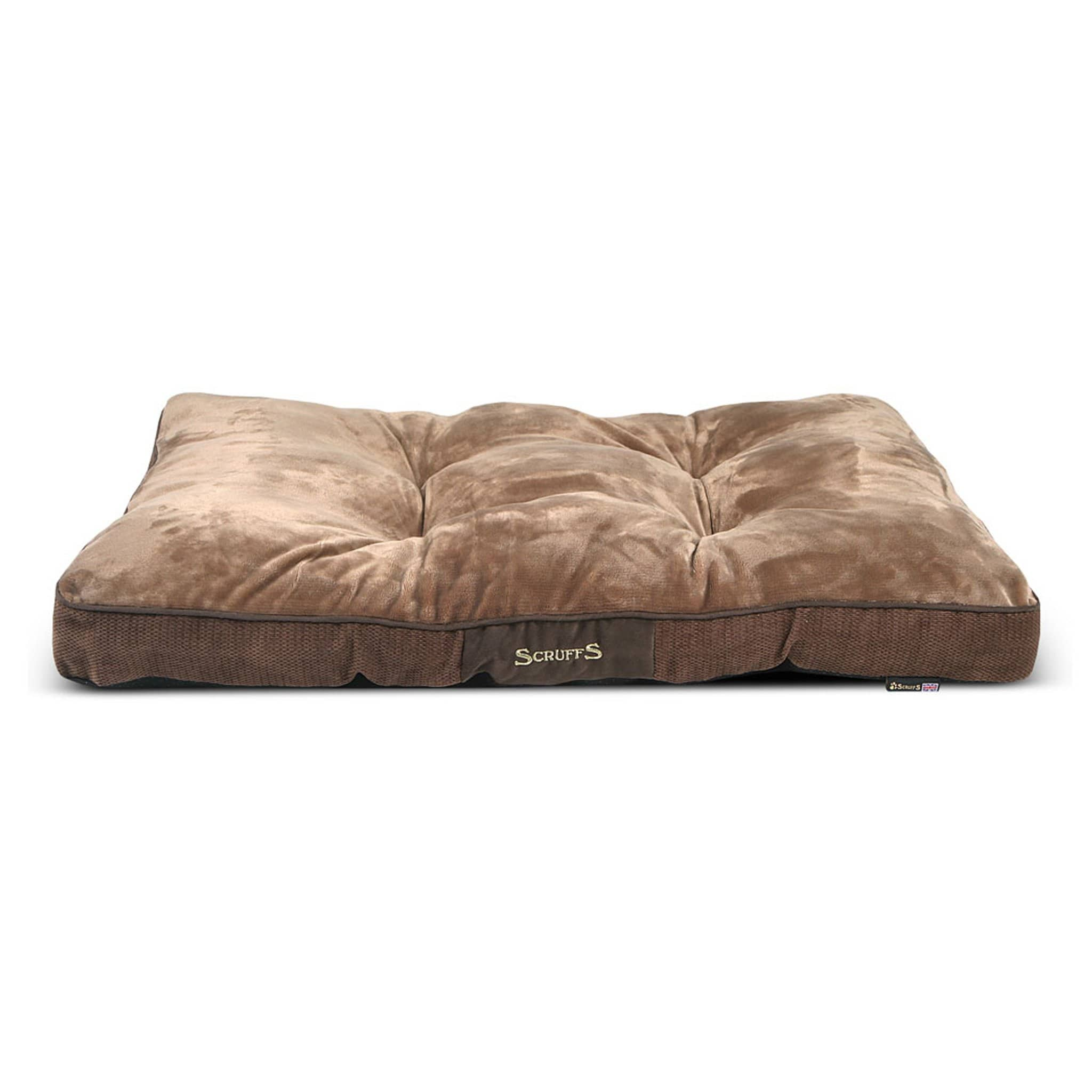Scruffs Chester Dog Mattress 18223 Chocolate Brown