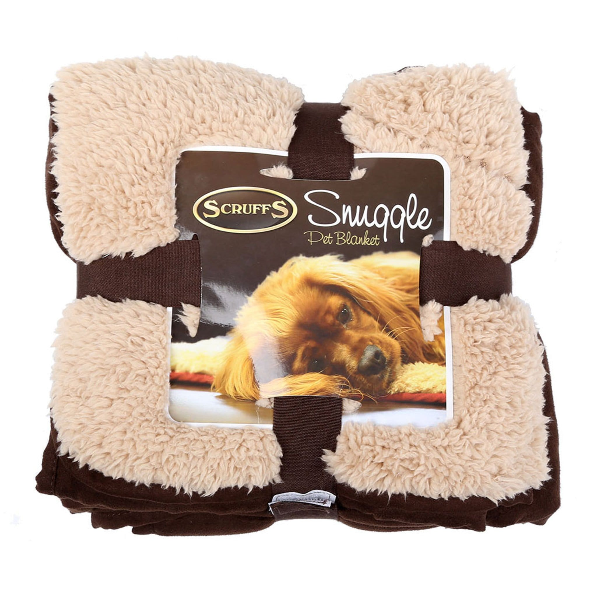 Scruffs Snuggle Dog Blanket 14442 Chocolate