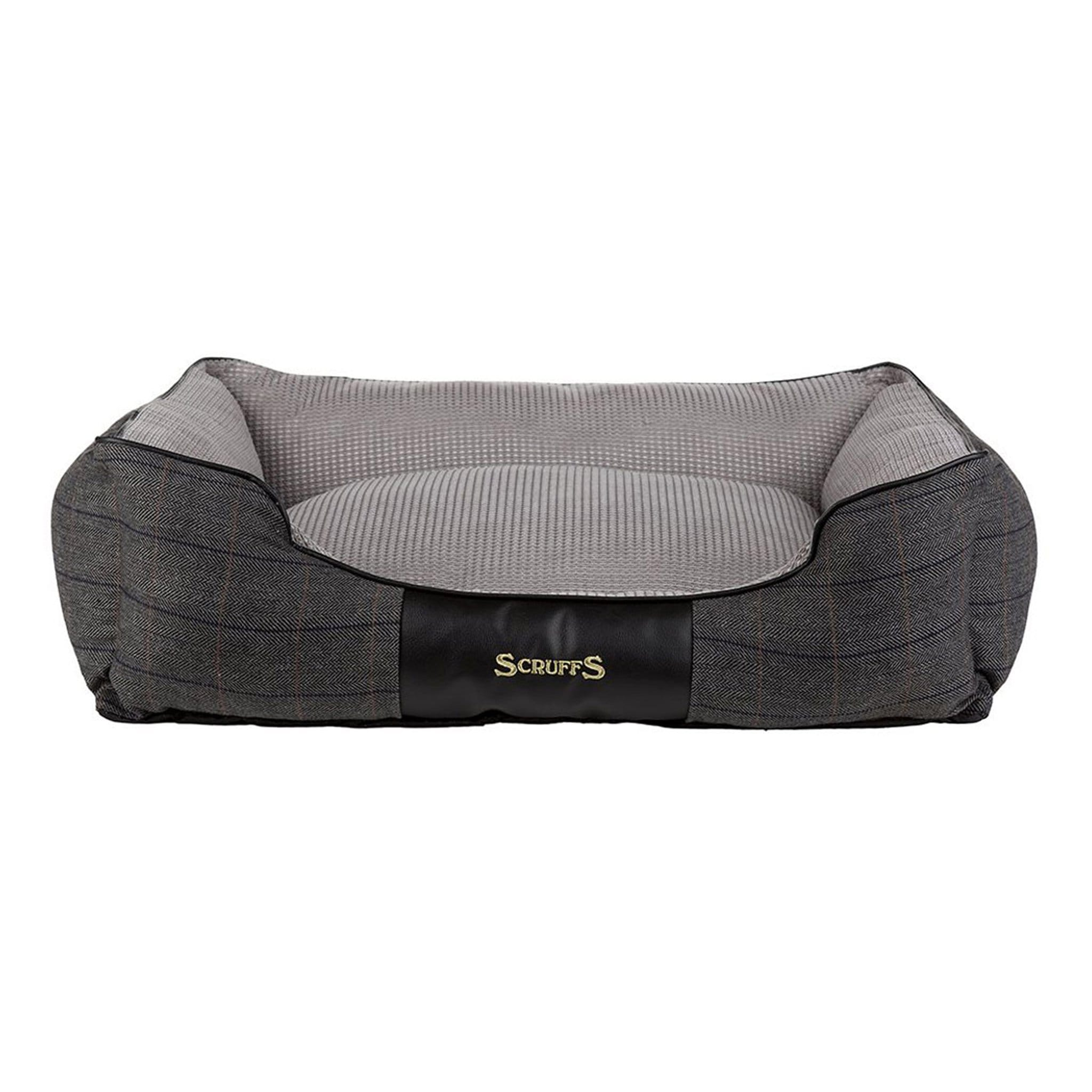 Scruffs Windsor Box Dog Bed 18152 Charcoal Grey