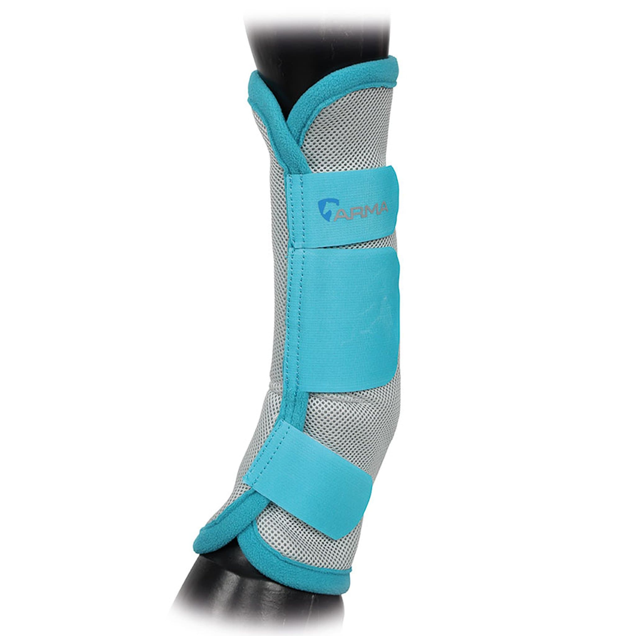Shires Arma Fly Turnout Socks Teal 1857