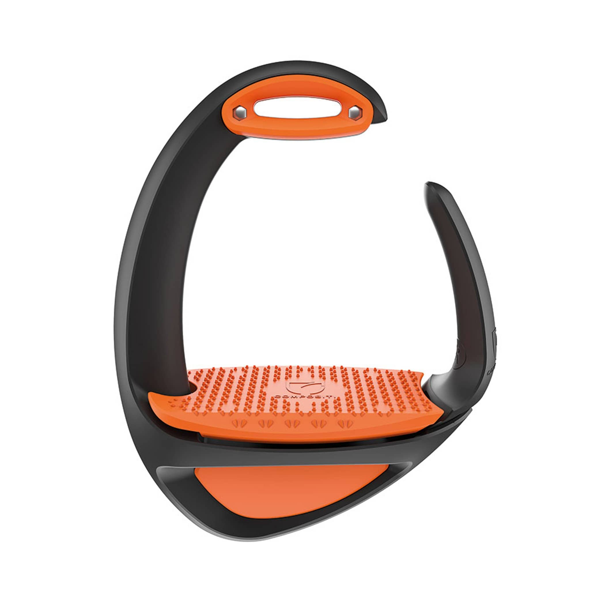 Shires Compositi Ellipse Comfort Stirrups Orange 696