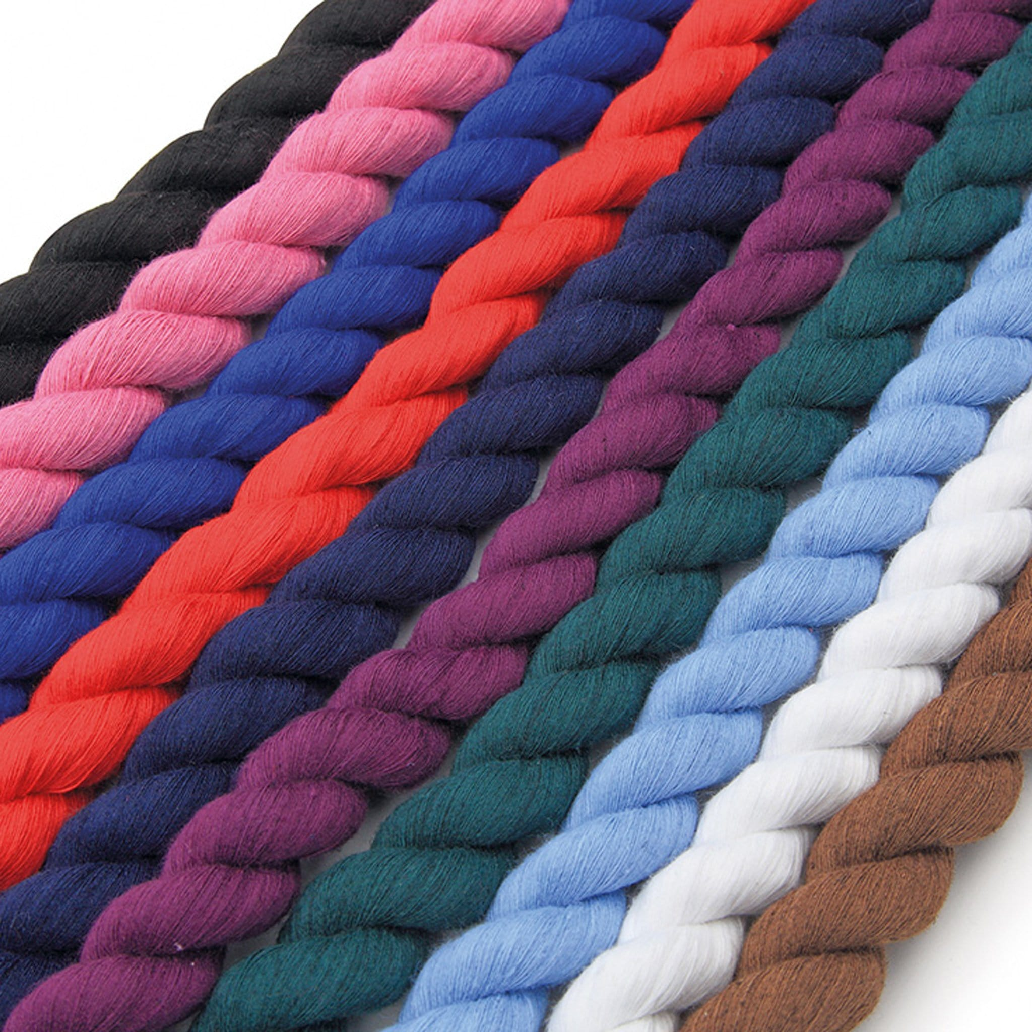 Shires Plain Lead Rope All Colours 389A.