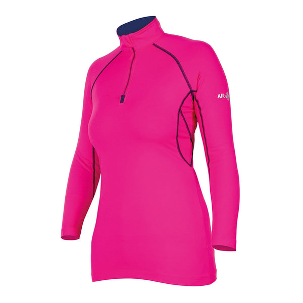 Shires Air Dri Cross Country Shirt Pink Studio 9978