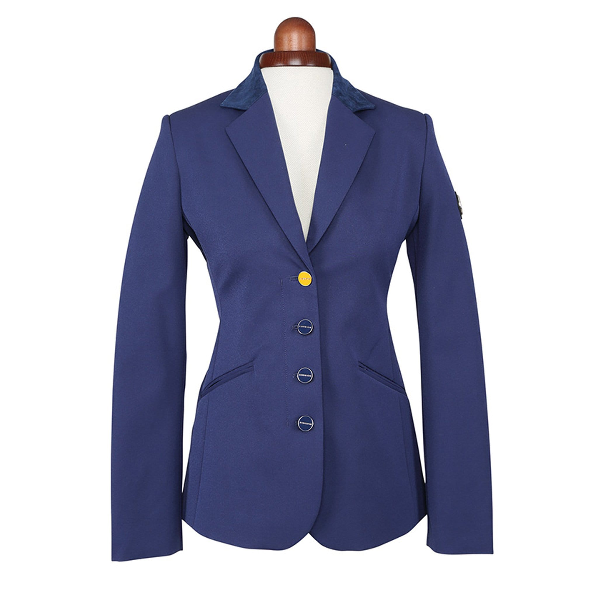 Shires Aubrion Calder Show Jacket Navy Studio 9133