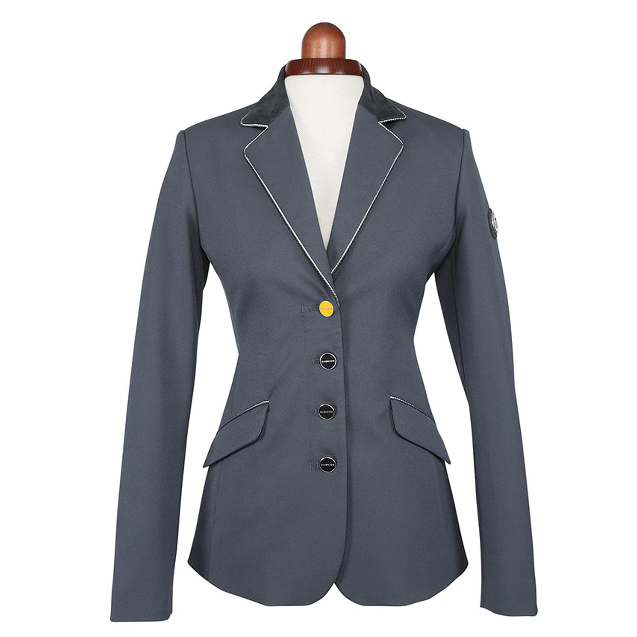 Shires Aubrion Delta Show Jacket Black Studio 9136