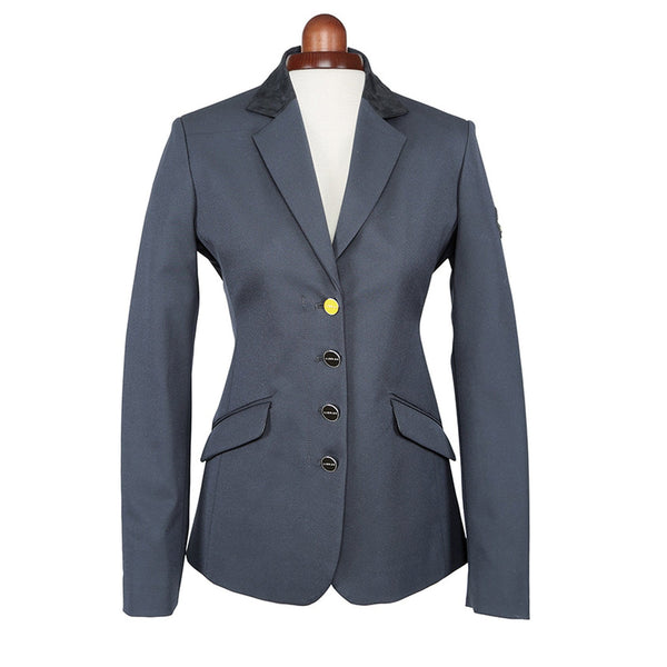 Shires Aubrion Monticello Show Jacket Black Studio 9137