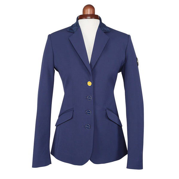 Shires Aubrion Monticello Show Jacket Navy Studio 9137