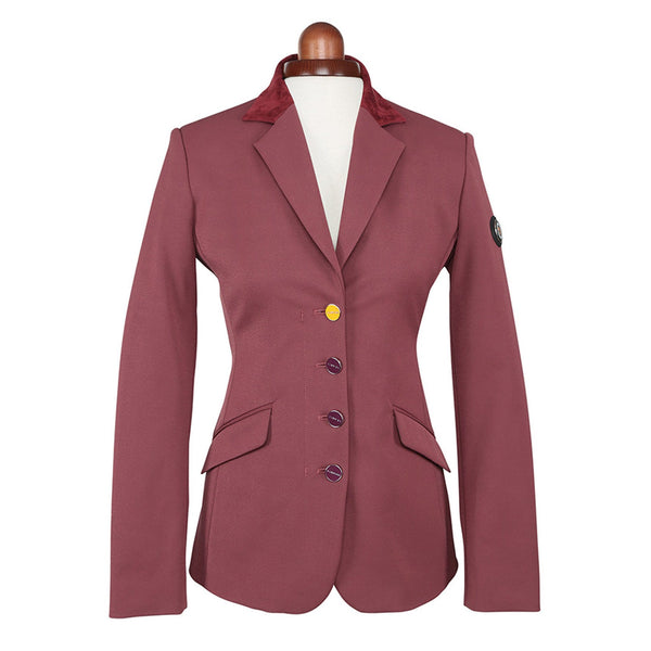 Shires Aubrion Monticello Show Jacket Plum Studio 9137