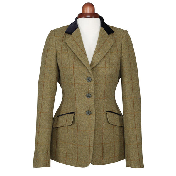 Shires Aubrion Saratoga Jacket Copper Check Studio 9785