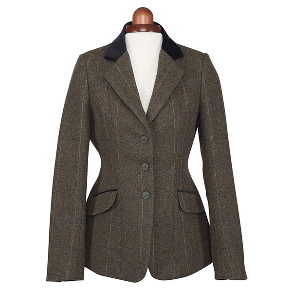 Shires Aubrion Saratoga Jacket Green Check Studio 9785