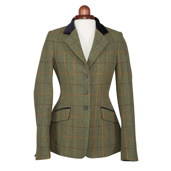 Shires Aubrion Saratoga Jacket Red Yellow and Blue Check Studio 9785