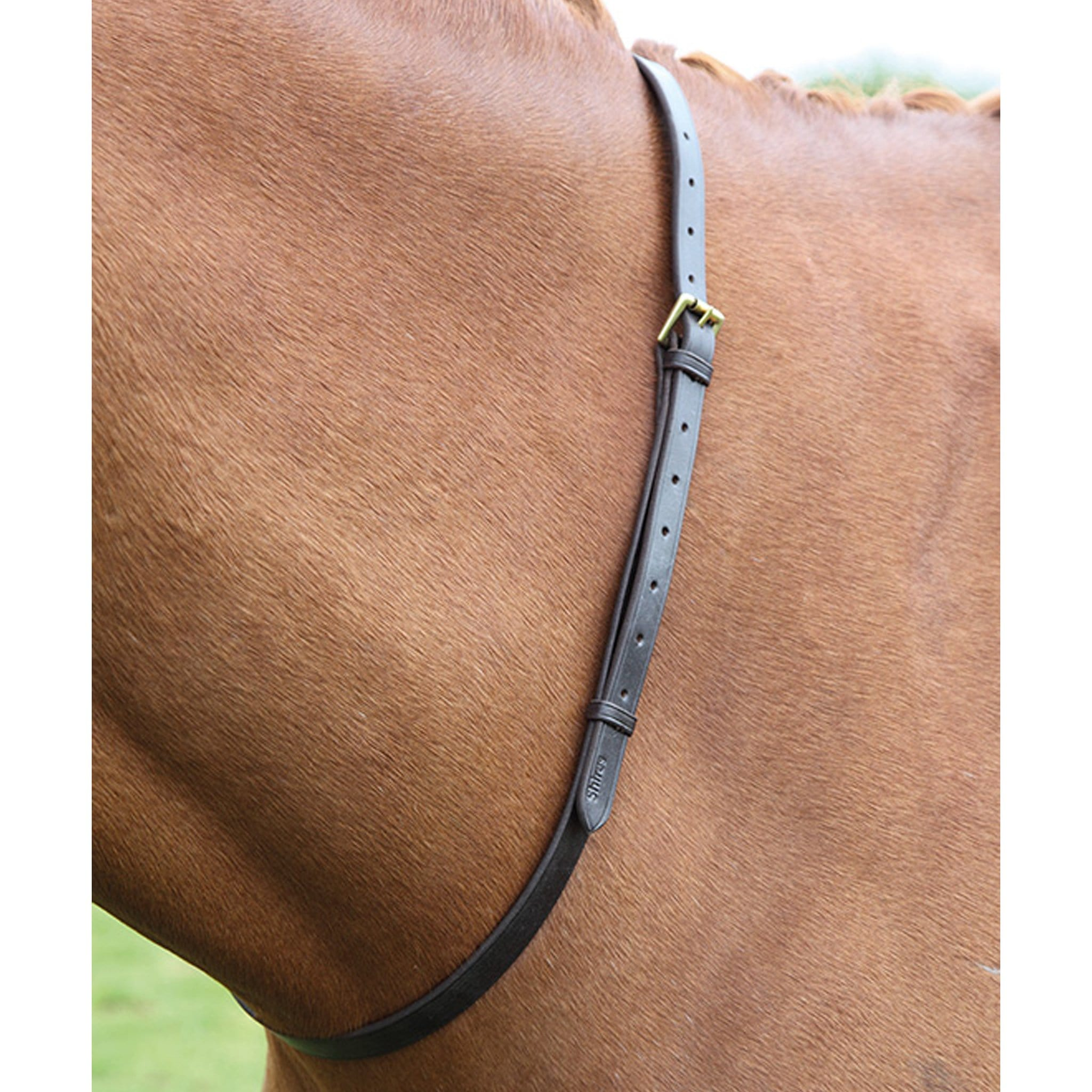 Shires Blenheim Leather Neck Strap 447G