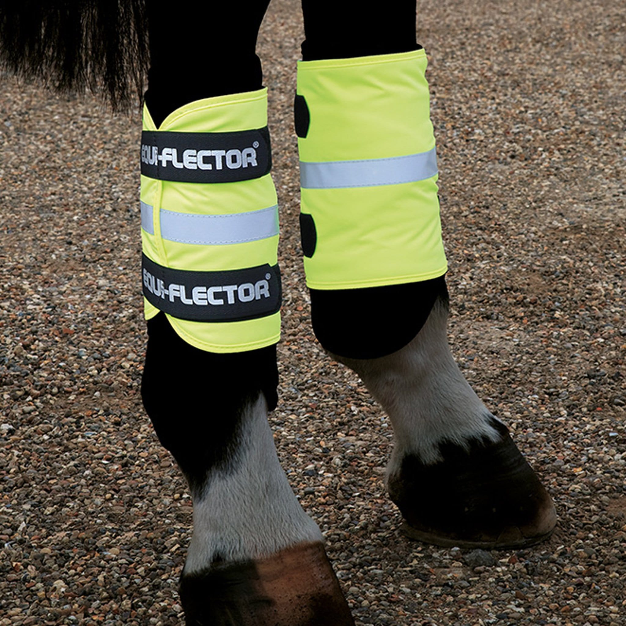 Shires Equi-Flector Wraps Yellow 9400
