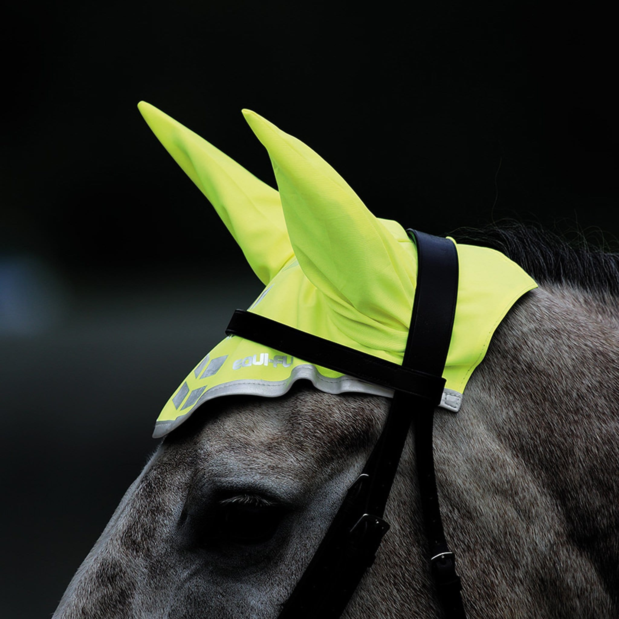 Shires Equi-Flector Fly Veil Yellow 9401