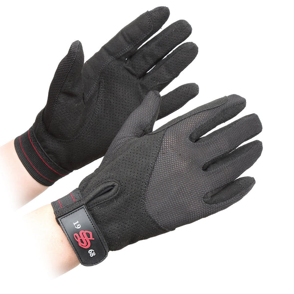 Shires Lightweight Gatcombe Gloves Black