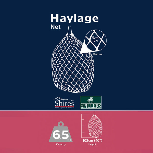 Shires Haylage Net Large Graphic 1024