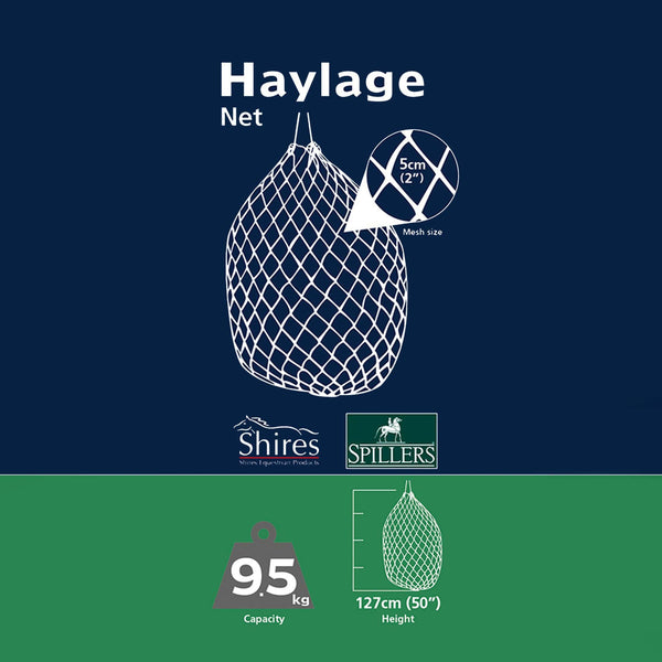 Shires Haylage Net Extra Large Graphic 1024