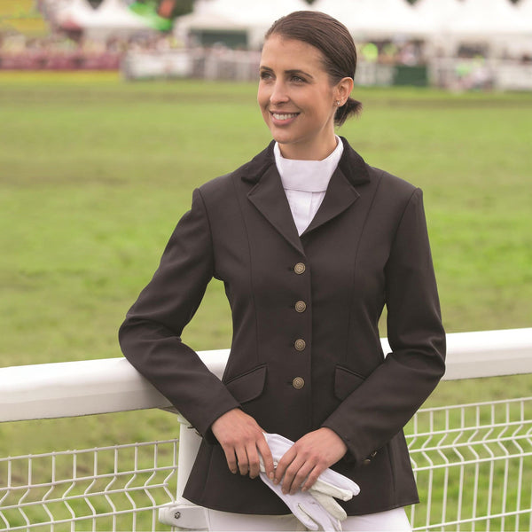 Shires Aston Ladies Jacket Black 9539