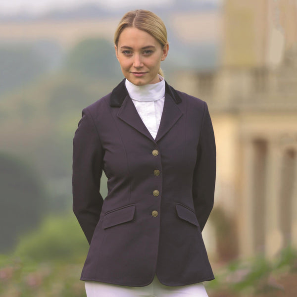 Shires Aston Ladies Jacket Navy 9539