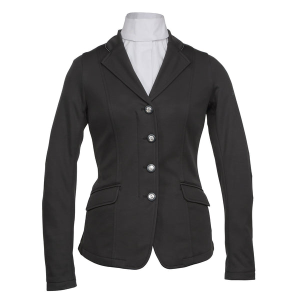 Shires Greenwich Ladies Jacket Black Studio 9782